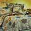ผ้าปูที่นอนลายดอกไม้ ใบไม้ ผลไม้ เกรด A ขนาด 6 ฟุต(5 ชิ้น)[AF-01] thumbnail 1