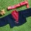 Hanbok Boy ฮันบกเด็กชาย 3-4 ขวบ ครบเซตพร้อมหมวก แถมกระเป๋า thumbnail 1