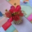 Hanbok hair pin ที่ปักผมฮันบก รุ่นดอกมูกุงฮวา สีแดง thumbnail 3