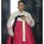 Hanbok เกรด A+++ แบบต่อปลายแขนปักดอกไม้น่ารัก สำหรับคนตัวสูง 170 cm. up thumbnail 8