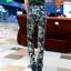 HW5906012 กางเกงทหารหญิงทรงหลวมสีเขียวกองทัพลายพราง (พรีออเดอร์) รอ 3 อาทิตย์หลังโอนเงิน thumbnail 2