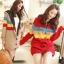 CW5706015 เสื้อกันหนาว ถักไหม กระเป๋าหน้า สไตร์ญี่ปุ่น อบอุ่นมาก thumbnail 1