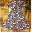Dress สั้นสไตส์วินเทจ ลายกุหลาย ทรง A ราคา 150 บาท thumbnail 2