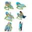 เปลโยกมัลติฟังก์ชั่น &#x2665 Rocking Baby Bouncer Newborn-to-Toddler Portable Rocker (สีฟ้า) thumbnail 3