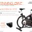 จักรยานออกกําลังกาย Spin Bike: 8705 รุ่นTOP สีดำ thumbnail 15