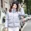 CW5909012 เสื้อโค้ทผู้หญิงหวานเกาหลีตัวสั้น มีอฮูดซิปหน้า(พรีออเดอร์) รอ 3 อาทิตย์หลังโอนเงิน thumbnail 3