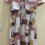 Dress สั้นสไตส์วินเทจ สีแดงลายวินเทจ สวยสีสดใส ราคา 200 บาท thumbnail 3