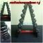 ขาย ขาตั้งดัมเบลทรงสามเหลี่ยม 6 คู่ สีดำ-แดง MAXXFiT รุ่น RK306 A thumbnail 7
