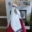 """Royal Hanbok แบบชาววัง (ทังอี) สีขาวครีม กระโปรงสีแดงปักมือ อก 38"""" thumbnail 5"""