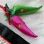 Korean hanbok bag กระเป๋างานปักสำหรับใส่ฮันบก สีแดง thumbnail 4