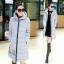 CW5711007 เสื้อโค้ทเกาหลี มีฮูด ซิปหน้า ผ้าผสมขนสัตว์ อบอุ่นมาก (พรีออเดอร์) รอ 3 อาทิตย์หลังโอนเงิน thumbnail 2