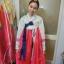 Hanbok เกรด A+++ แบบต่อปลายแขนปักดอกไม้น่ารัก สำหรับคนตัวสูง 170 cm. up thumbnail 7