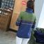 QW6003001 เสื้อคอเต่าไหมถักแฟชั่นเกาหลีพิมพ์ลายวินเทจ thumbnail 3