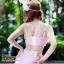 [Size S,M] Daisy set (สีชมพู) ชุดว่ายน้ำ ทูพีทแนววินเทจ thumbnail 3