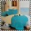 ผ้าปูที่นอนสีพื้น เกรด A สีฟ้า ขนาด 5 ฟุต 5 ชิ้น thumbnail 1