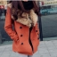 CW809003 เสื้อโค้ทเกาหลี กันหนาว ผ้าขนสัตว์ ปกเชิ้ตตัวยาว (พรีออเดอร์) รอ 3 อาทิตย์หลังโอนเงิน thumbnail 2