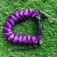 Cetacea Housing Heavy Duty Coiled Lanyard Purple สีม่วง thumbnail 1