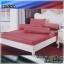 ผ้าปูที่นอนสีพื้น (สีน้ำตาล)(พื้นเรียบ) ขนาด 3.5 ฟุต 3 ชิ้น thumbnail 1
