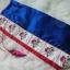 Korean hanbok bag กระเป๋างานปักสำหรับใส่ฮันบก สีน้ำเงิน thumbnail 1