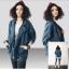 FW5709018 เสื้อแจ็กเก็ตยีนส์ ปกเชิ้ต แขนยาว แฟชั่นเกาหลี (พรีออเดอร์) thumbnail 1