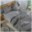 ผ้าปูที่นอน 5 ฟุต(5 ชิ้น) เกรดพรีเมี่ยม[AP-73] thumbnail 1