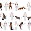 ขาย Fitness Resistance Band MAXXFiT ขายยางยืดออกกำลังกาย thumbnail 14