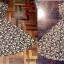 Dress ยาวทรง A สไตส์วินเทจ สีทอง เรียบหรูดูดี ราคา 150 บาท thumbnail 2