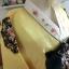 Princess Hanbok แบบชาววัง (ทังอี) สีเหลืองทอง ตัดแดง สวยอลังการ thumbnail 4