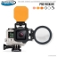 FLIP4 Pro Package with SHALLOW, DIVE & DEEP Filters & +15 MacroMate Mini Lens for GoPro 3, 3+, 4 Completed Set thumbnail 1