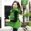 CW5801004 เสื้อโค้ทแขนกุด (waistcoat) เกาหลี ลายดอก แต่งเฟอร์(พรีออเดอร์) รอ 3 อาทิตย์หลังชำระเงิน thumbnail 1