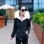CW5909009 เสื้อโค้ทผู้หญิงหวานเกาหลี มีอฮูดกระดุมหน้า(พรีออเดอร์) รอ 3 อาทิตย์หลังโอนเงิน thumbnail 2