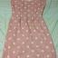Dress สั้นสีส้มลายจุดน่ารัก ราคา 150 บาท thumbnail 3