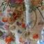 uchikake kimono กิโมโนอูชิคาเคะ สีขาวครีม งานปักดิ้นทอง thumbnail 6