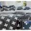 ผ้าปูที่นอน 6 ฟุต(5 ชิ้น) เกรดพรีเมี่ยม[P-85] thumbnail 1