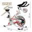 จักรยานออกกําลังกาย Spin Bike รุ่นS808/20kg. thumbnail 15