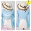 [Size S,M] Birkin ชุดว่ายน้ำแขนยาว แนว Sport สีฟ้า thumbnail 3