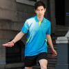 ชุดแบดมินตัน เสื้อแบดมินตัน YONEX สีฟ้า : 404