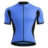 เสื้อปั่นจักรยานแขนสั้น Monton สีน้ำเงิน Blazers Plus Gino Blue Cycling Jersey : 115111093