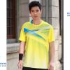 ชุดแบดมินตัน เสื้อแบดมินตัน YONEX สีเหลือง : 401