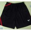 กางเกงแบดมินตัน VICTOR สีดำ : 451