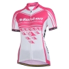 เสื้อปั่นจักรยานผู้หญิงแขนสั้น Monton สีชมพู BLAZERS Sweet Cycling Jersey : 113111112