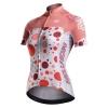 เสื้อปั่นจักรยานผู้หญิงแขนสั้น Monton แดง 2015 Blazers Plus Miri Red Cheap Cycling Kit : 115111090