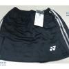 กางเกงกระโปรงแบดมินตัน YONEX สีดำ : 459