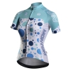 เสื้อปั่นจักรยานผู้หญิงแขนสั้น Monton ฟ้า 2015 Blazers Plus Miri Blue Cycling Kit : 115111091