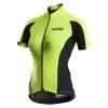 เสื้อปั่นจักรยานผู้หญิงแขนสั้น Monton เหลืองเขียว 2015 EVO Plus Annie Fluorescent Yellow Cycling Jersey : 115111071