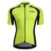 เสื้อปั่นจักรยานแขนสั้น Monton เหลืองเขียว 2015 EVO Plus Bravery Fluorescent Yellow Cycling Jersey : 115111067