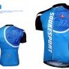 เสื้อปั่นจักรยานแขนสั้น SOUKE สีน้ำเงิน : CS3000