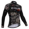 เสื้อปั่นจักรยานแขนยาว Cycling Box : 314112046