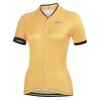 เสื้อปั่นจักรยานผู้หญิงแขนสั้น Monton สีเหลือง BLAZERS Boat Anchor Yellow Cycling Jersey : 113111110