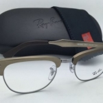 RAY-BAN CLUBMASTER Rx RB6295 2807 51-21 Brushed Bronze Frames